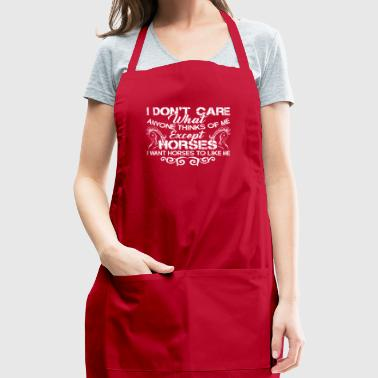 HORSE TEE SHIRT - Adjustable Apron