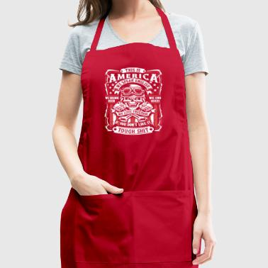 This Is America Tee Shirt - Adjustable Apron