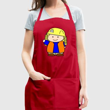construction girl 2400px - Adjustable Apron