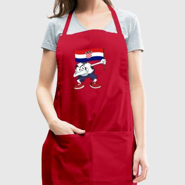 Croatia Dabbing Soccer Ball - Adjustable Apron