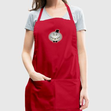 Silver pianist - Adjustable Apron