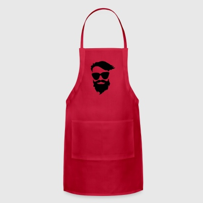 beards funny - Adjustable Apron