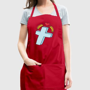 kreuz crucifix cross church kirche2 - Adjustable Apron