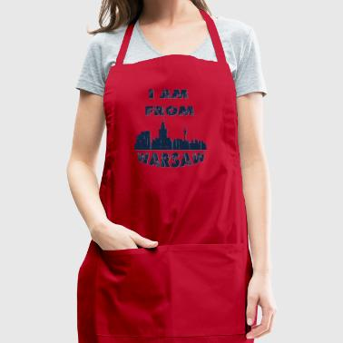 Warsaw I am from - Adjustable Apron