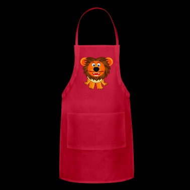loewe lion leo king animal tiere2 - Adjustable Apron