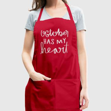 October shirt - Adjustable Apron