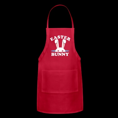 Easter Bunny Easter Day - Adjustable Apron