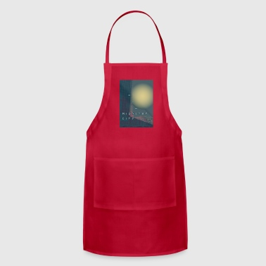 Midnight City - Adjustable Apron