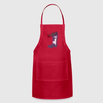 Gummy Boot lilac - Adjustable Apron