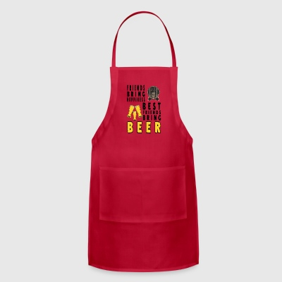 beer Best frind brings beer - Adjustable Apron