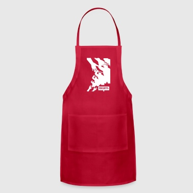 police wite - Adjustable Apron