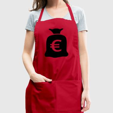 Bag of money euro - Adjustable Apron