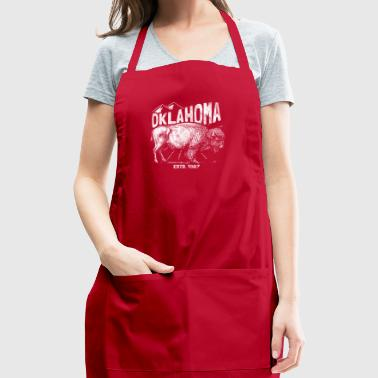 Shirt for indigenous americans - Oklahoma - Adjustable Apron