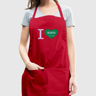 I Love Saudi Arabia - Adjustable Apron