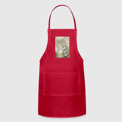 Lily of the Valley Flowers Sketch - Adjustable Apron