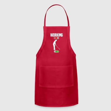 Working OFF golf sport ON gift - Adjustable Apron