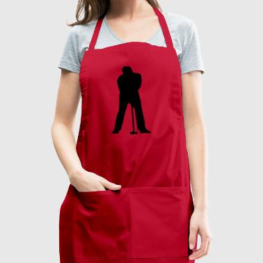 golf golfer golfen spielen player ball sports3 - Adjustable Apron