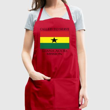 Ghana Accra LDS Mission Called to Serve Flag - Adjustable Apron