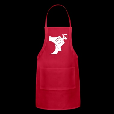 handcuff wite - Adjustable Apron