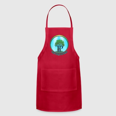 The Twin Powers Ring Logo with Title - Adjustable Apron