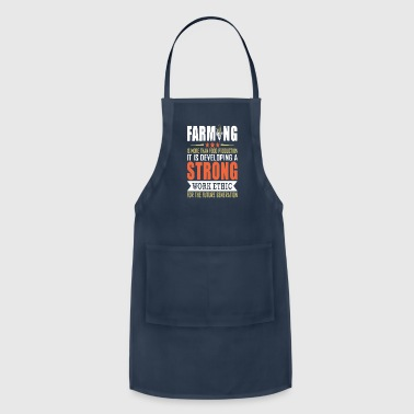 Ethics Farming Is More Than Food Production T Shirt - Adjustable Apron
