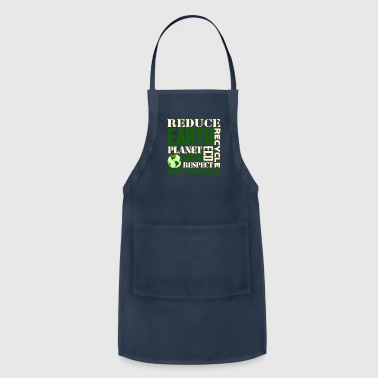 Earth Day Green Sustainable Tshirts - Adjustable Apron
