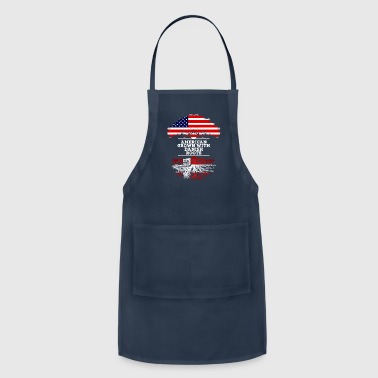 Danish American Grown With Danish Roots - Adjustable Apron