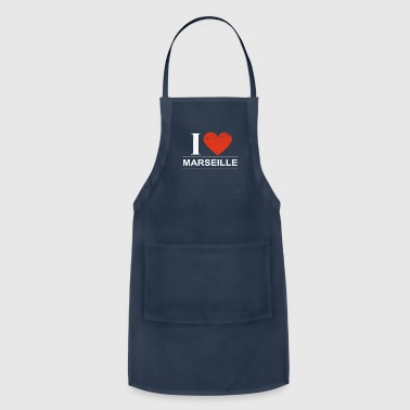 Marseille I Love Marseille - Adjustable Apron