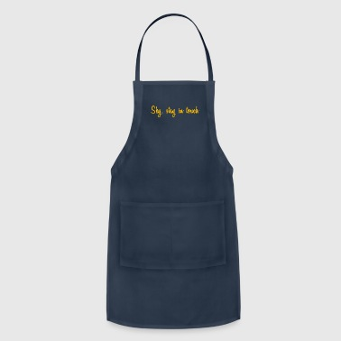 SKY nice script clean simple gift idea - Adjustable Apron