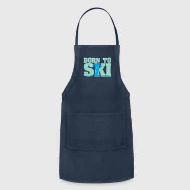 Born to Ski - Adjustable Apron