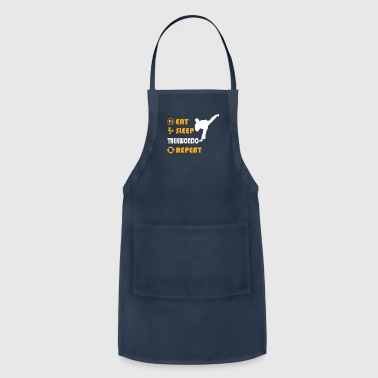 Game Taekwondo - gift for men and women - Adjustable Apron