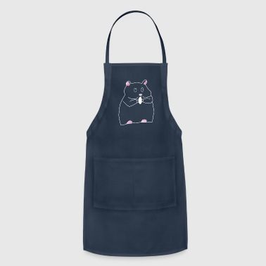 Rodent Hamster animal rodent gift - Adjustable Apron