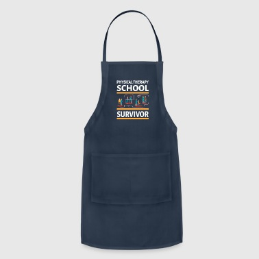 Physical Therapist physically School Survivor - Adjustable Apron