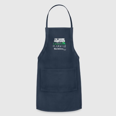 Skittles I'm more confused than a Chameleon - Adjustable Apron