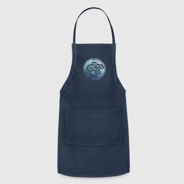 143 Bear Never Wild - Adjustable Apron