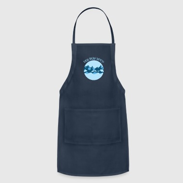 German saying Mountain mountaineers hiking - Adjustable Apron