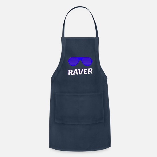 Night Club Aprons - Raver - Apron navy