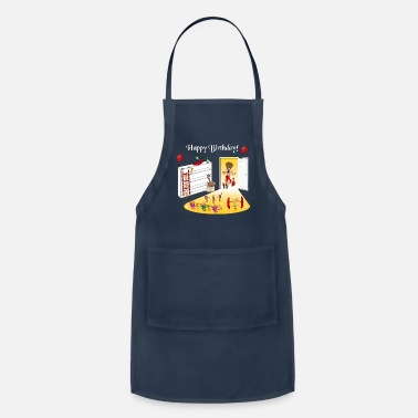 Happy Birthday Happy Birthday | Birthday Party - Adjustable Apron