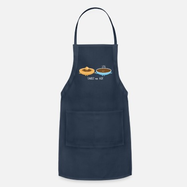 Hot Cocoa Coffee and toffee couple - Apron