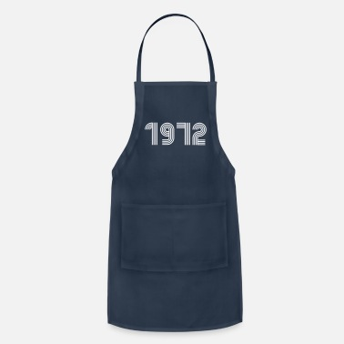 Date Retro 1972, Birthday, Birth Year, 1970s - Apron