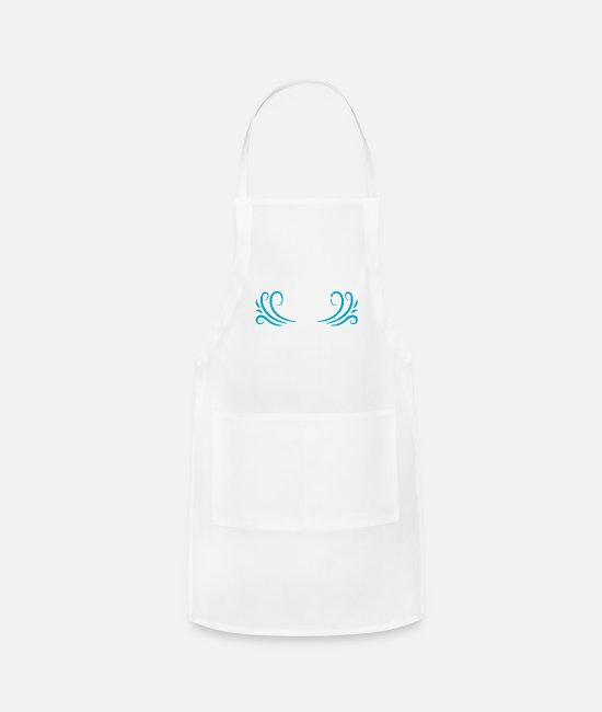 Vacation Aprons - Tenerife is Calling Canary Island - Apron white