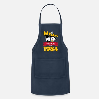 Couples 35th Wedding Anniversary T Shirt - Apron