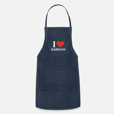 Karachi I Love Karachi - Adjustable Apron