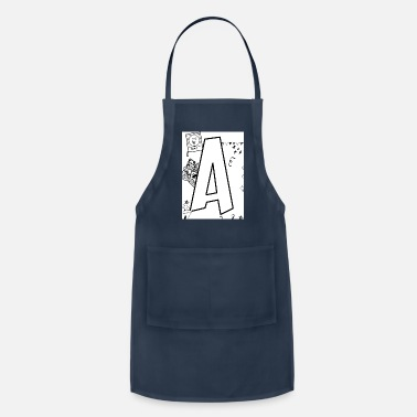 Alphabet Alphabet A - Adjustable Apron