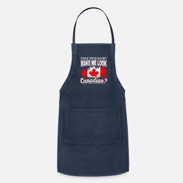 Quebec Canada Proud Canadian Maple Leaf Gift - Adjustable Apron
