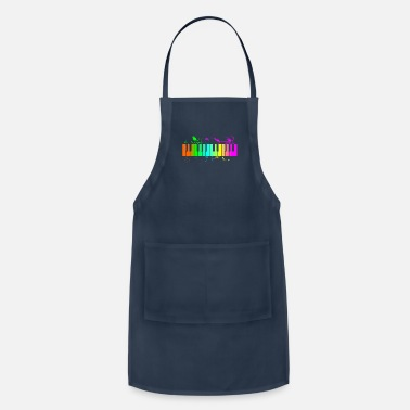 Piano Piano Playing Piano Funny Gift Quote Band - Apron