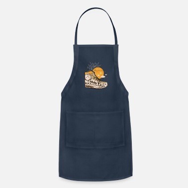 Funny Hiking Hiking Funny Hiking Gift - Apron