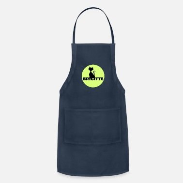 First Name Brigitte name first name - Adjustable Apron