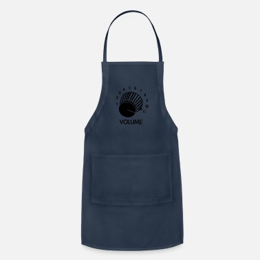 Knob Volume Knob Up To 11 - Apron