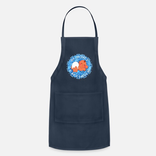 Birthday Aprons - Babie Buzz© Kids Exclusive Designer Fashion Wear - Apron navy